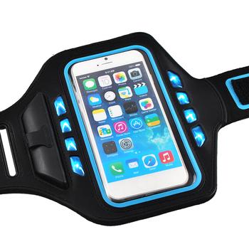 the best attitude 7e848 477bc Led Flash Running Sports Armband Case Phone Holder For Iphone 6 Plus,Light  Arm Band For Iphone 7 Plus 5.5inch - Buy Led Flash Running Sports Armband  ...