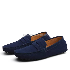 Mens shoes loafer casual leather suede shoes ,men's loafer shoes