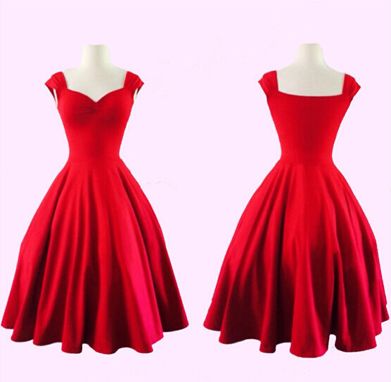 Cheap 1950s Red Dress, find 1950s Red Dress deals on line at ...