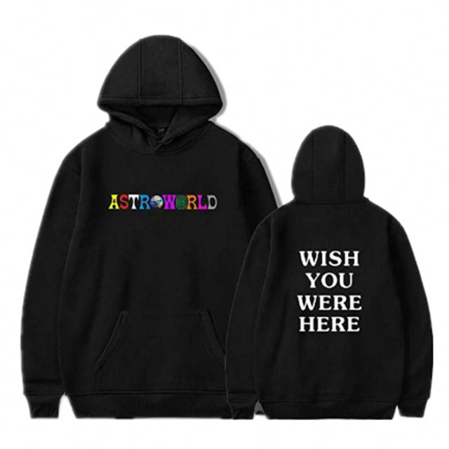 High Quality Custom Printed Streetwear Plain <strong>Black</strong> Fashion Cotton <strong>Mens</strong> Pullover <strong>Hoodie</strong>