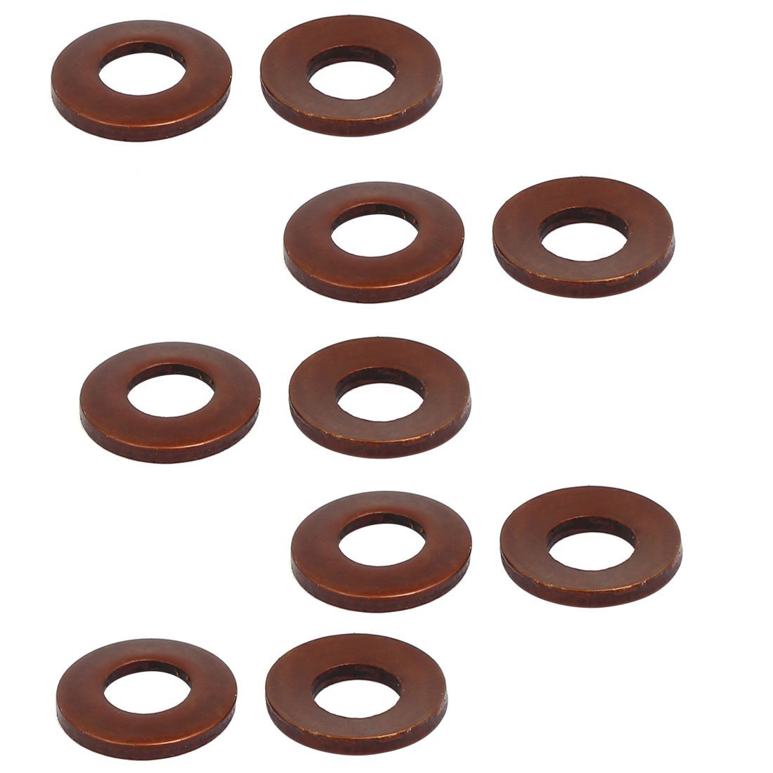 uxcell 11mm Outer Dia 5.3mm Inner Dia 1.2mm Thickness Metric Belleville Spring Washer 10pcs