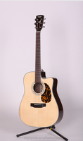 SAGA beautifull natural color D200C 41 inch guitar with perfect sound by Huadun musical instrument