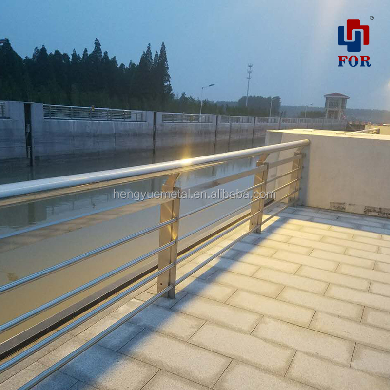 OEM high quality stainless steel handrails for outdoor steps