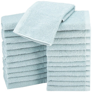 100% terry cotton quick dry hotel wash cloth face towel