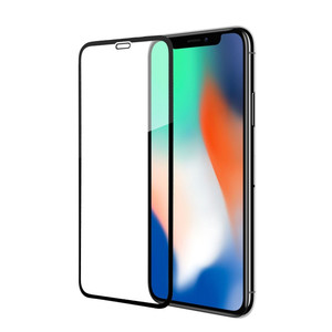 New listing 6D full cover 9H hardness premium tempered glass explosion-proof cellphone screen protector for Iphone XS/X