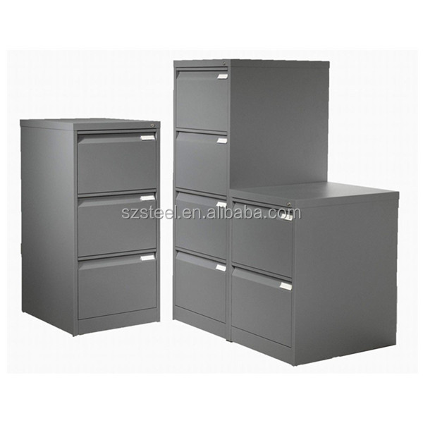 Office Furniture Vertical Filing <strong>Cabinet</strong> Steel file <strong>cabinet</strong> with Lock Key