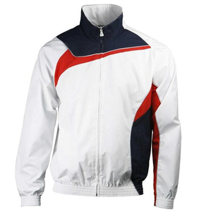 Top quality sports jacket with pant/trousers,full zipper with customized design,soccer training sets