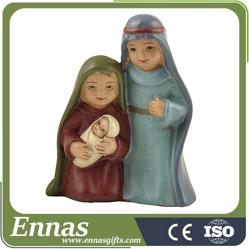 Factory Handmade Jesus family statues Christmas nativity figurines