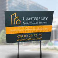 offering pavement PP material signage, factory since 2008