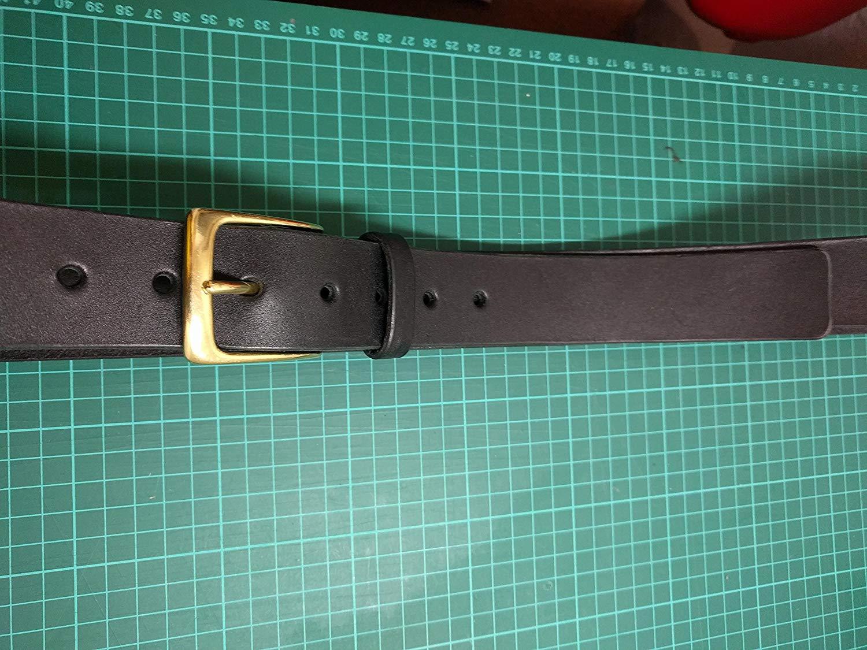 MONIQUE Men Antique Single Prong Rectangular Shape 1.5 Belt Replacement Buckle