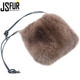 High Quality Winter Luxury Customized Fox Fur Bag Hand Bag For Women