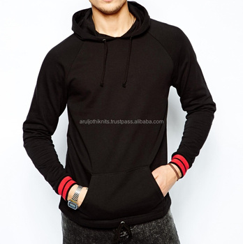 new concept 5dcca 42f14 Mens Pullover Hoodies With Striped Cuffs - Buy Designer Pullover  Hoodie,Hoodies For Men,Mens Fitted Pullover Hoodie Product on Alibaba.com