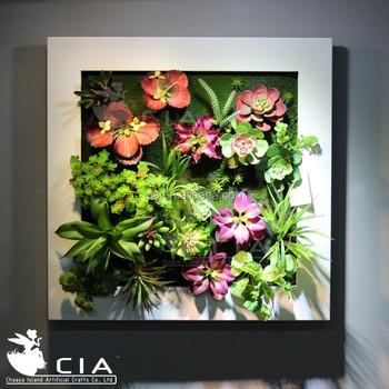 Living Wall Art Artificial Vertical Succulent Garden