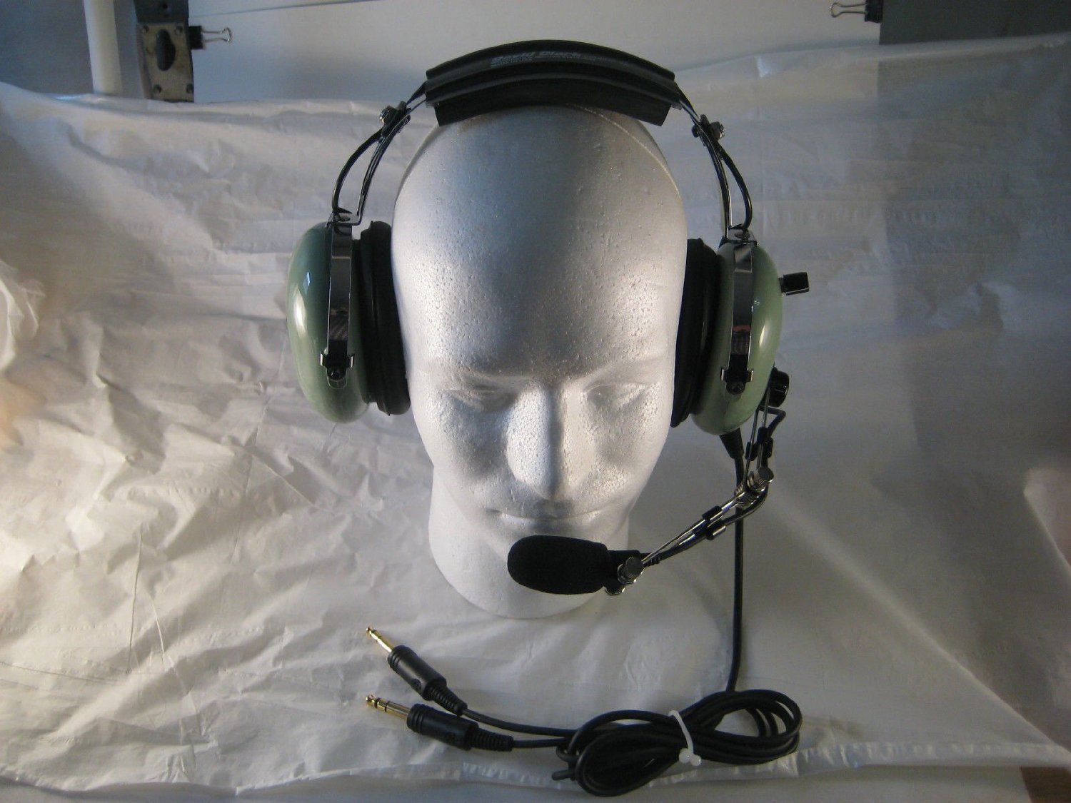 44593a46c93 Get Quotations · David Clark Remanufactured General Aviation Headset GAR76  with Volume Control