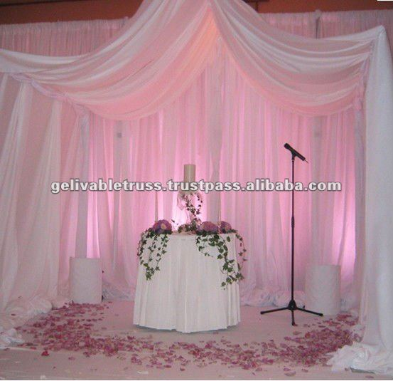 pipe and drape for business service