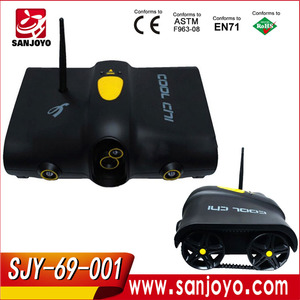 TOP RC I - Spy Car Tank with Camera WiFi Remote Control By Iphone Android I - Spy tank car SJY-69-001