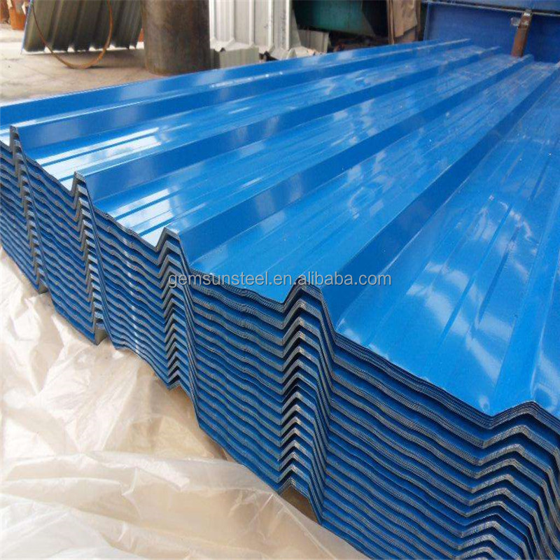 Corrugated Steel Color coated Panels Claddings Roofing/Wall Sheets
