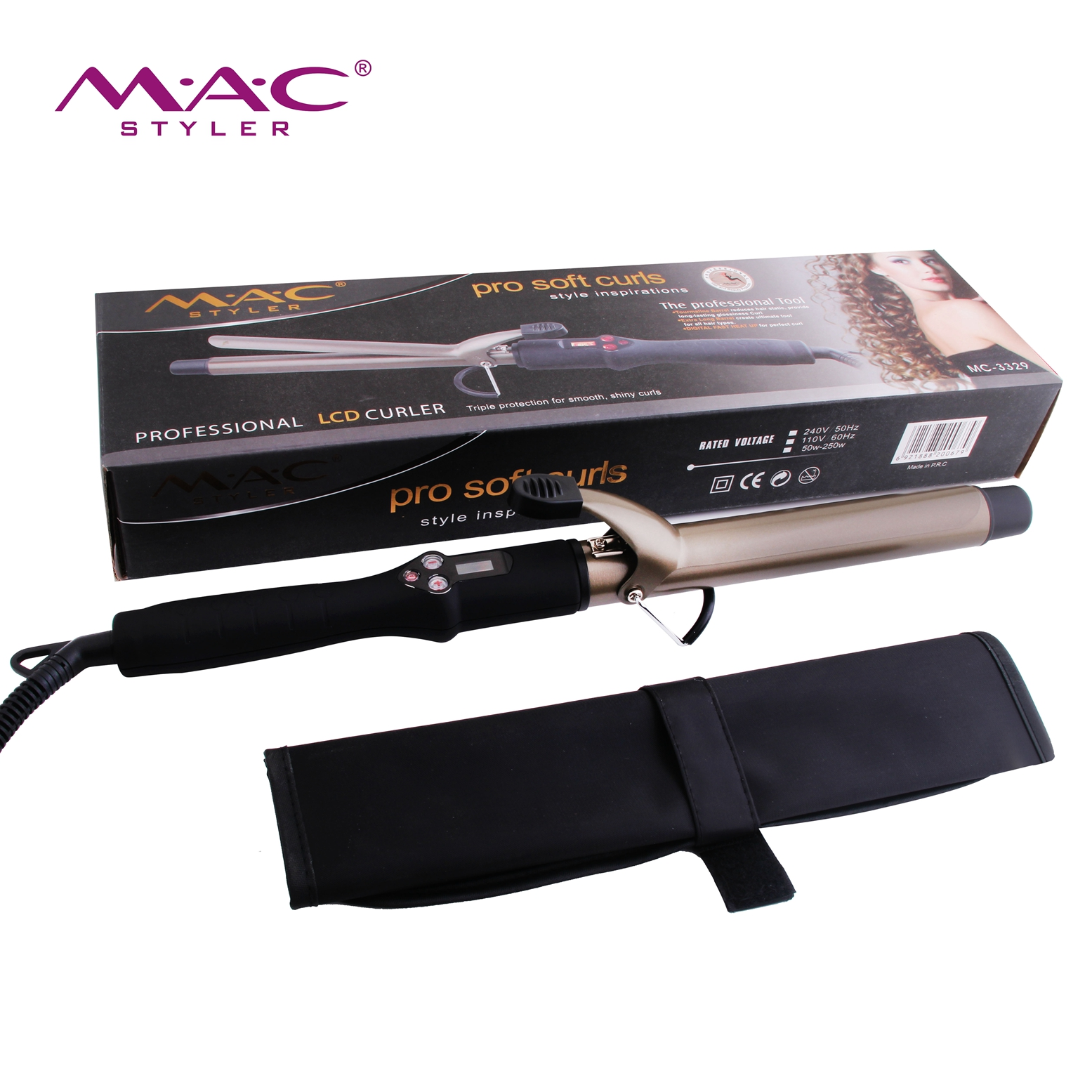 High Quality Newest Hair Curler Upgrade Digital Control Factory Professional Wholesale Magic Tools Fast heating Hair Curler