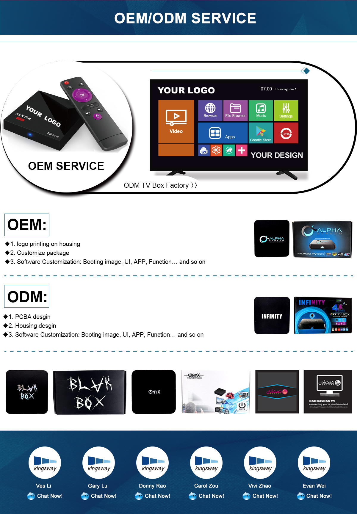 Shenzhen Kingsway Technology Co , Ltd  - Android TV Box, Smart TV Box