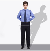Factory wholesale custom police security guard office safety staff uniform for management