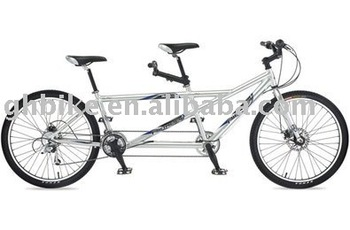 26'' popular mountain Tandem bike double person bike passed ce