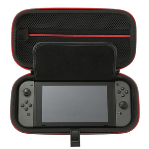 SHBC Carbon Fiber Pu Hard Eva Carrying Case For Nintendo Switch