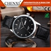 Latest Gift Items Fashion Japan Movt Quartz Day/Date Wrist 3Atm Water Resist Leather Watch Real