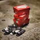 Mini Sneaker 3D Slipper car Keychain Couple Bag Pendant AJ Collection Value Keychain MY83