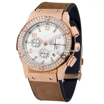 64ad8aa20d66 2018 Luxury Brand Unisex watch Men popular womens watches Quartz Stainless  Steel Dial Leather Band Wristwatch