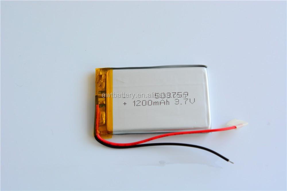 3.7v 1200mah Battery For Garmin Dezl 560lmt 560lt 361-00051-02 ...