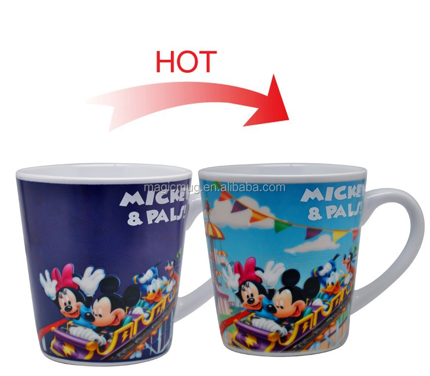 Magic Color Changing Cinema Cups Free Cartoon Movie Cup