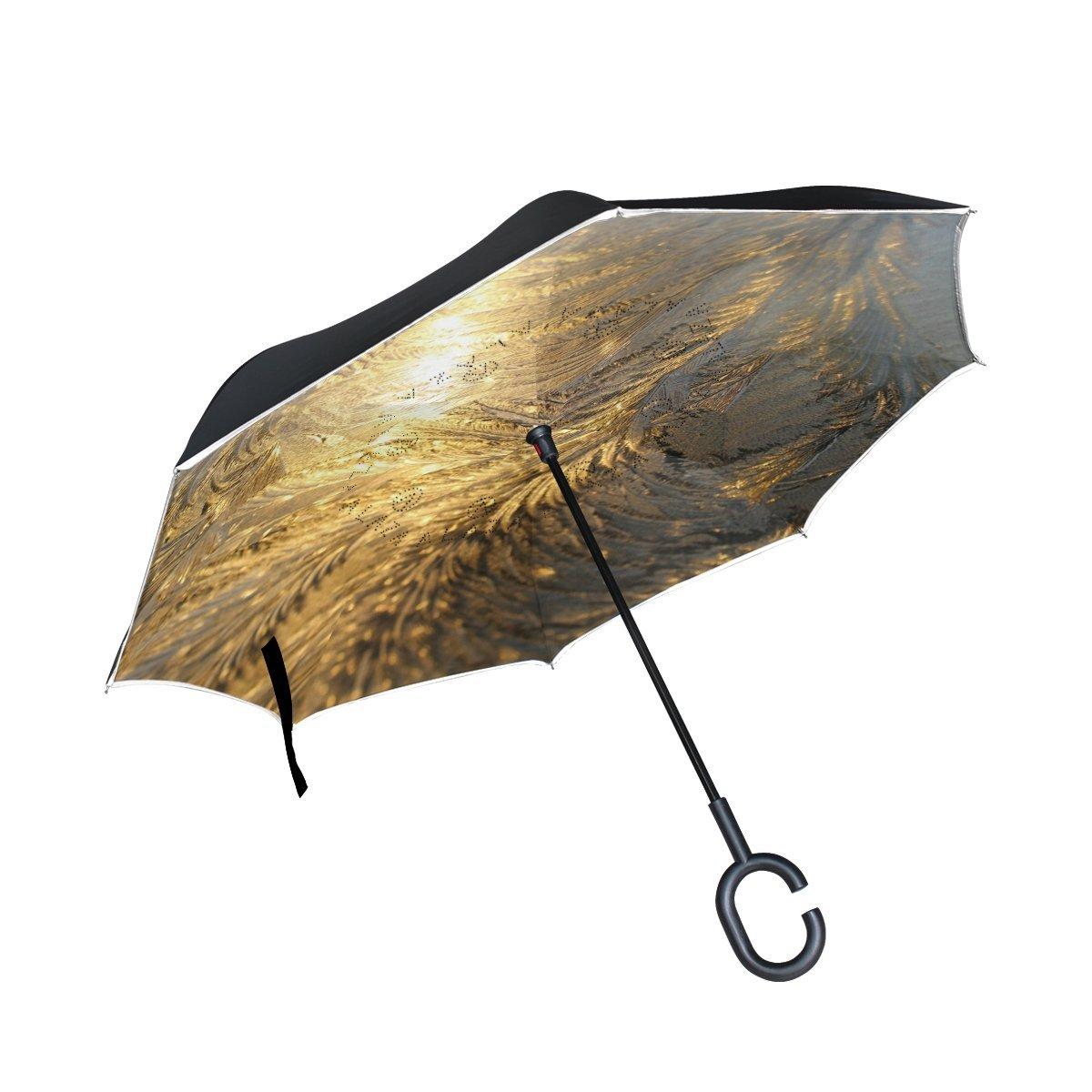 Folding Umbrella Rainproof /& Windproof Umbrella Fractal Flower Custom Umbrella