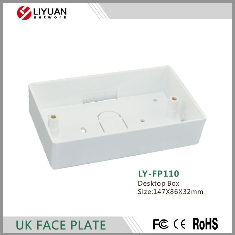LY-FP110 Desktop box, UK type FACE PLATE