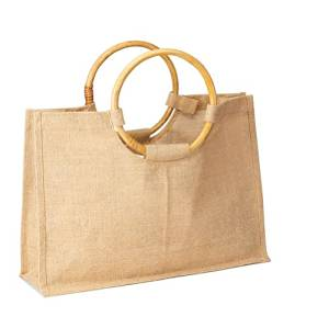 Get Quotations Pack Of 25 Eco Friendly Reusable Bag Women Ping Tote With Handles Jute Burlap