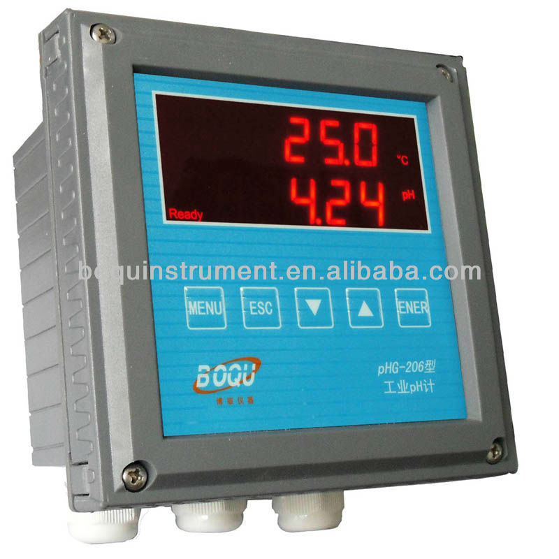 Phg 206 hanna chine piscine en ligne ph m tre num rique for Ph metre piscine