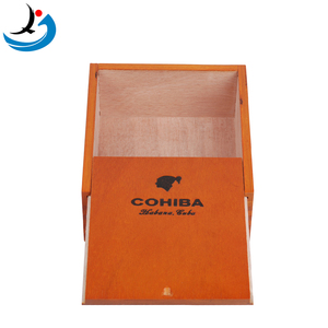 Factory Wholesale Custom Unfinished Wooden Box For Cigar