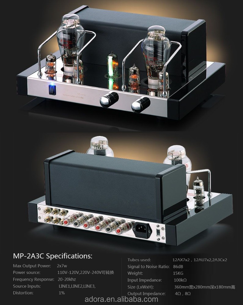 tube amplifier integrated-amp