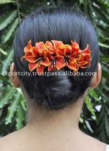 9 hyacinth water lily flower hair comb