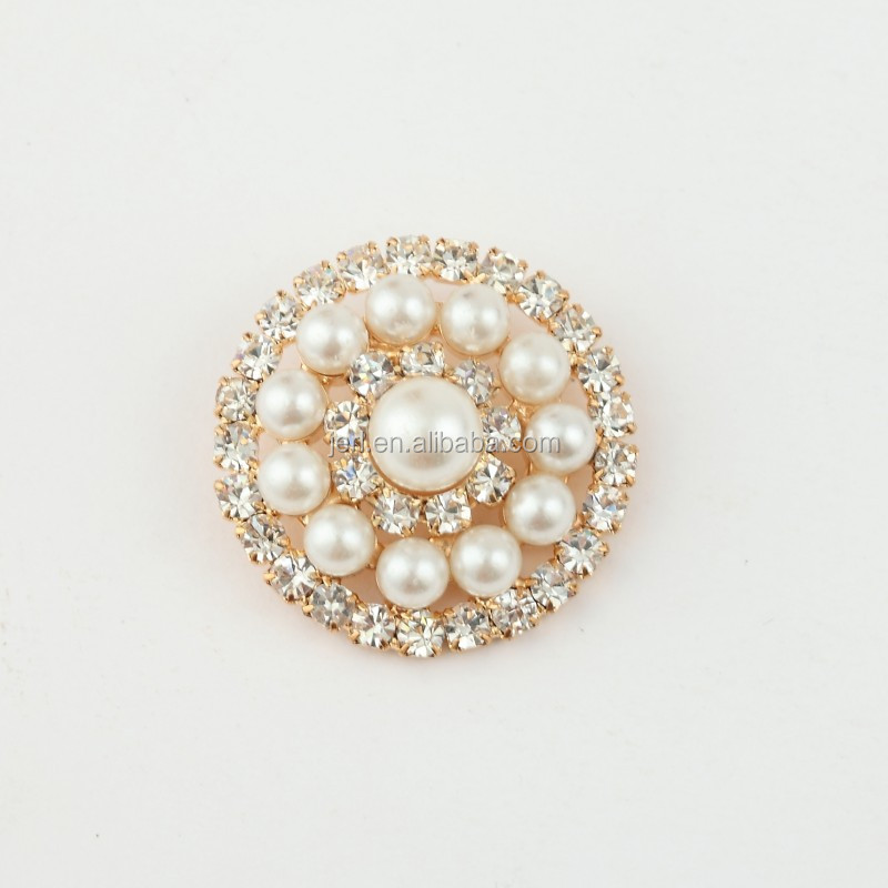 wholesale chinese jewelry rhinestone button stones for clothes decoration