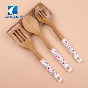 Cathylin Cheap homeware Cooking Tools Small Wooden Kitchen Utensils