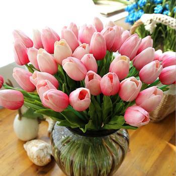 Fleur Artificielle Mini Tulipe Fleurs Artificielles Pour La