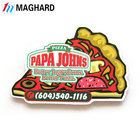 Promotion item custom design pizza fridge magnet