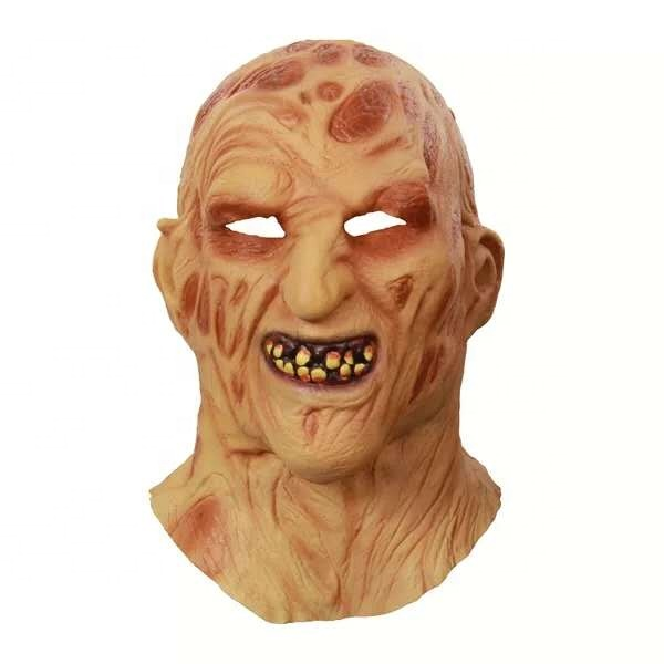 Custom Latex Masker Griezelige Horror Zombie Masker Halloween Nieuwigheid Kostuum Partij Zombie Masker Movie Cosplayer Terroristische Latex Hoofddeksels