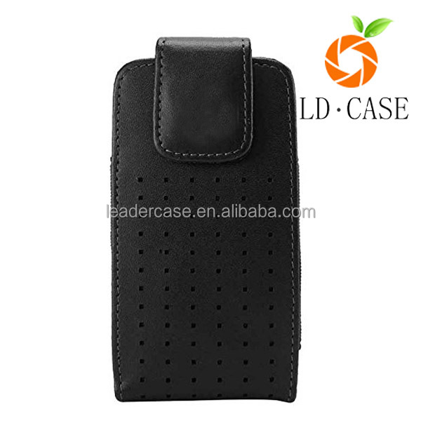 China Suppiller Fashion Mobile Phone Case Flip Real Leather Cover For Sony E5
