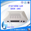 GEPON ONU 4FE LAN Ports Fiber Optic Node Compatible with Huawei/ZTE/Fiberhome OLT Made in China