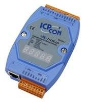 I-7188EAD Embedded Internet / Ethernet Controller with 512K bytes flash, 512K bytes SRAM with 40 Mhz CPU with display
