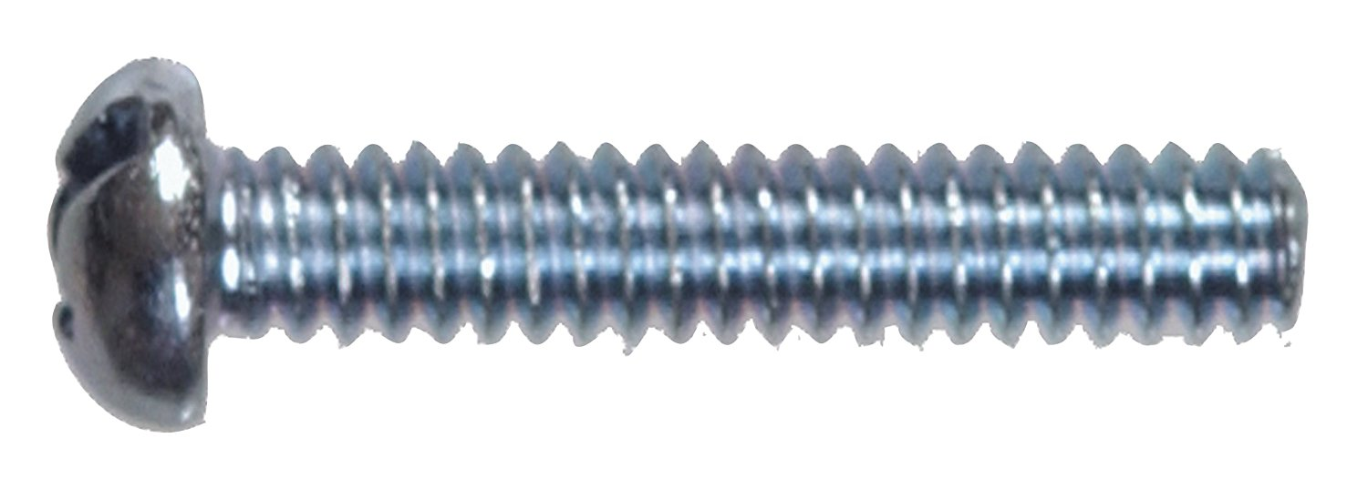The Hillman Group 90245 10-24-Inch x 1-1/4-Inch Round Head Combo Machine Screw, 100-Pack