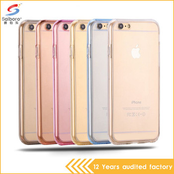 Factory price full cover for iphone 6 case cute transparent