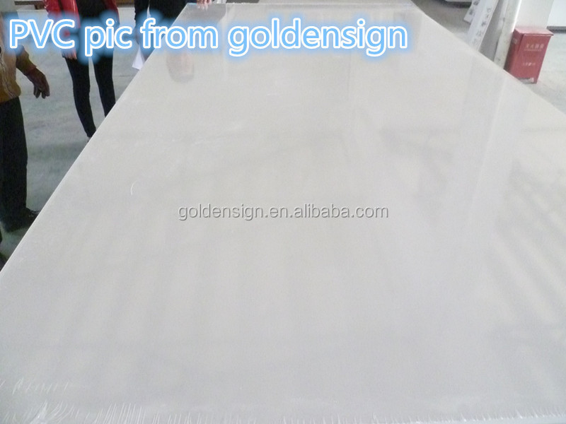 pvc sheets black for furniture/pvc lamination sheet/pvc sheet for house with SGS certification
