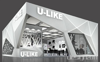 Modern Exhibition Stand Near Me : Clearance price modern style trade show stand wood&aluminum